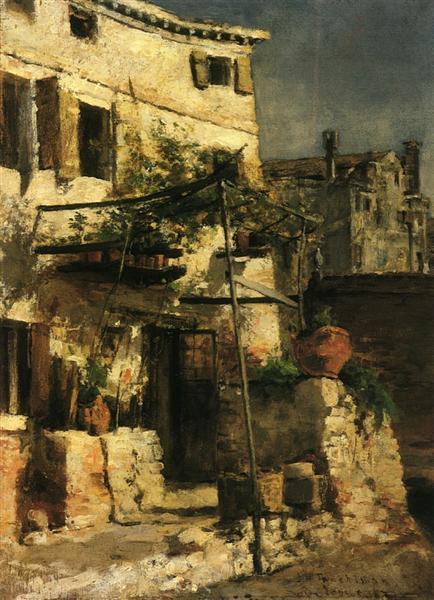 A Venetian Scene, 1877 - John Henry Twachtman