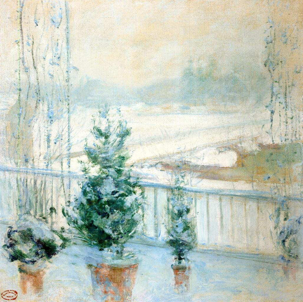 Balcony in Winter, 1901-1902