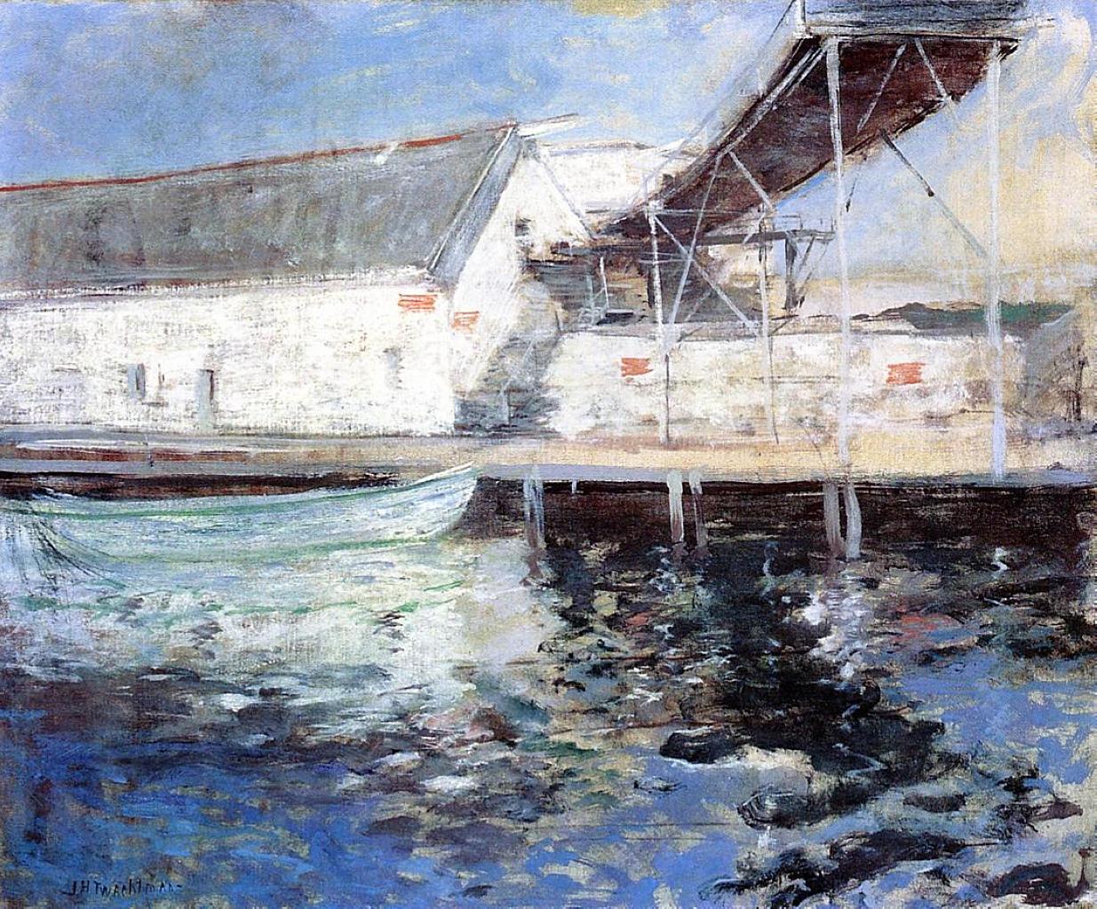 Fish Sheds, Gloucester, Massachusetts, 1900-1902