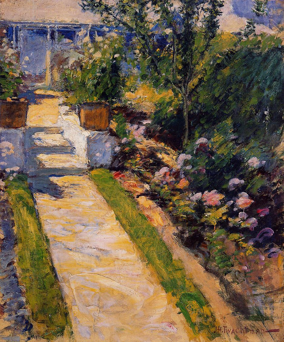 In the Garden, 1895-1900