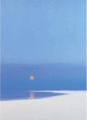 Evening Beach - John Miller