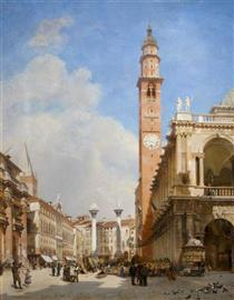 The Market Place, Vicenza - John O'Connor