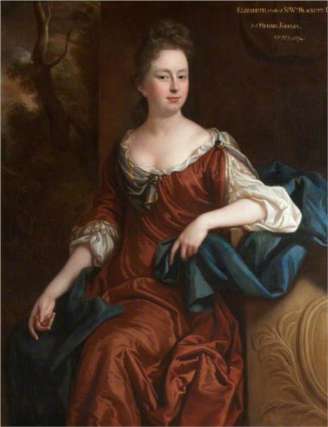 Elizabeth Kirkley, 1680 - Джон Райлі