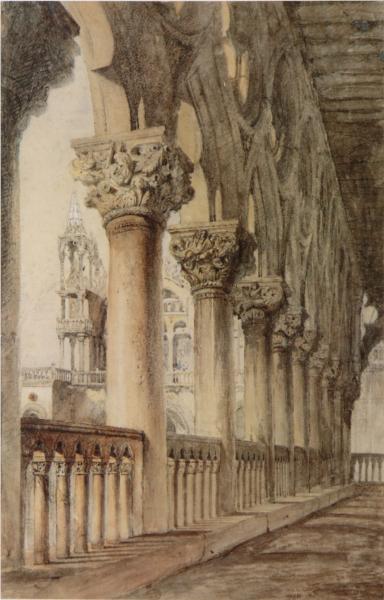 The Ducal Palace, 1850 - John Ruskin