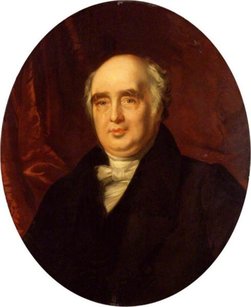 Henry Richard Vassall Fox, 3rd Baron Holland (copy after an original of 1829 by Charles Robert Leslie) - John Simpson