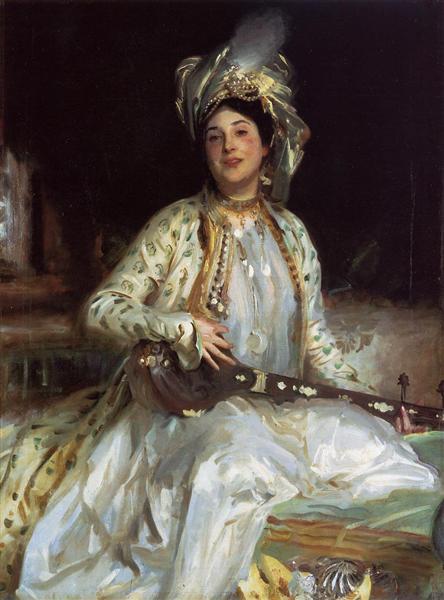 Almina, Daughter of Asher Wertheimer, 1908 - John Singer Sargent