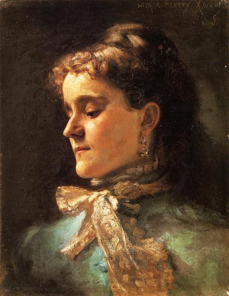 Emily Sargent, c.1877 - John Singer Sargent