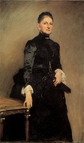 Mrs Adrian Iselin - Sargent John Singer