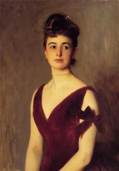 Mrs Charles E. Inches (Louise Pomeroy), 1887 - John Singer Sargent