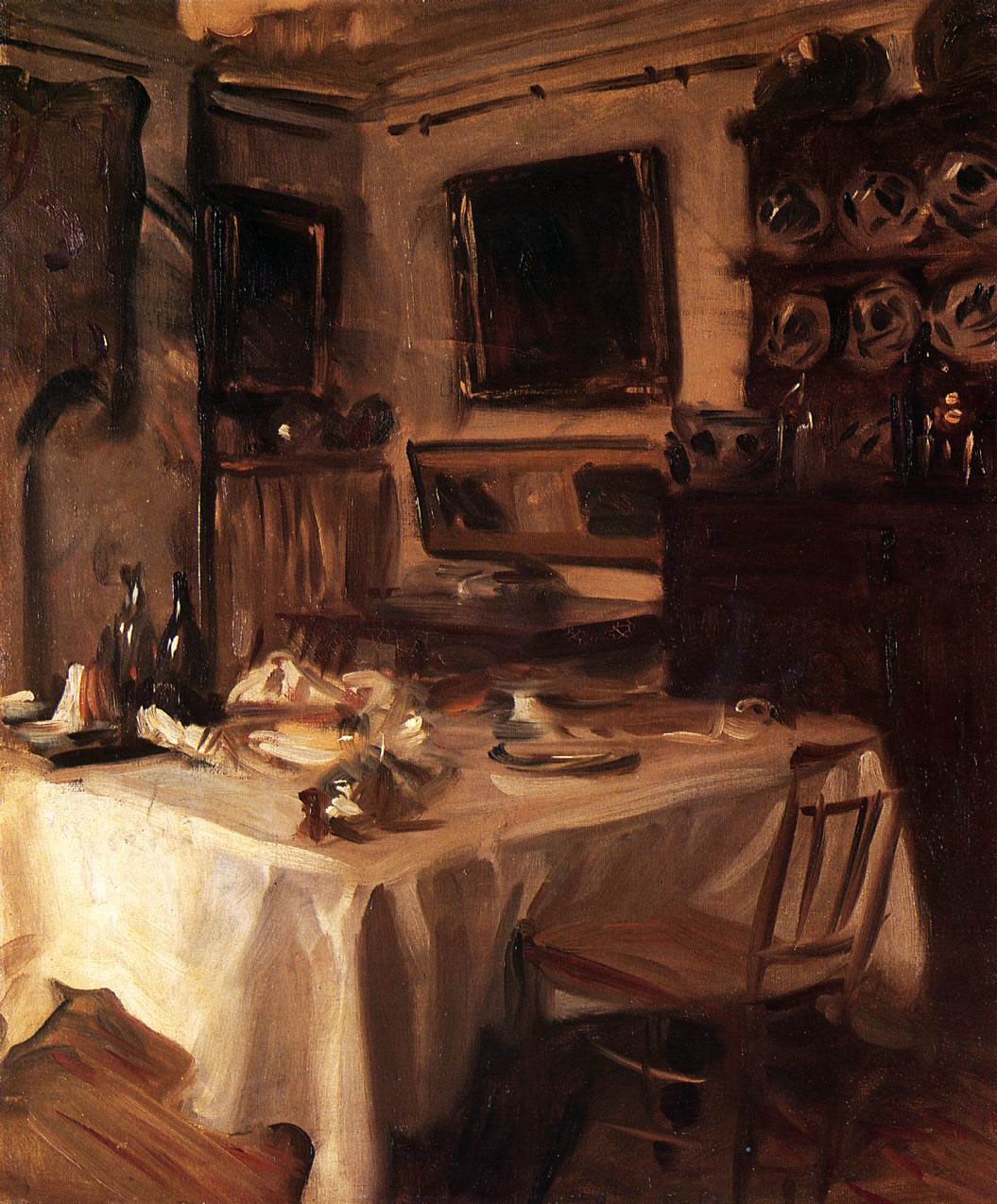 My dining room john singer sargent for My dining room