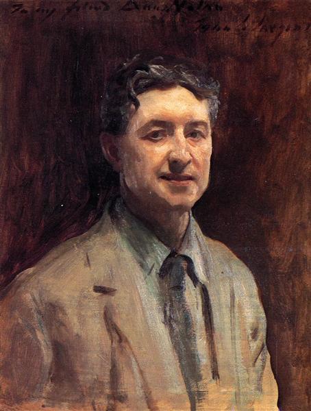 Portrait of Daniel J. Nolan, 1917 - John Singer Sargent