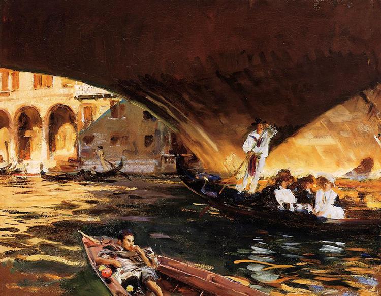 The Rialto, Venice, 1909 - John Singer Sargent