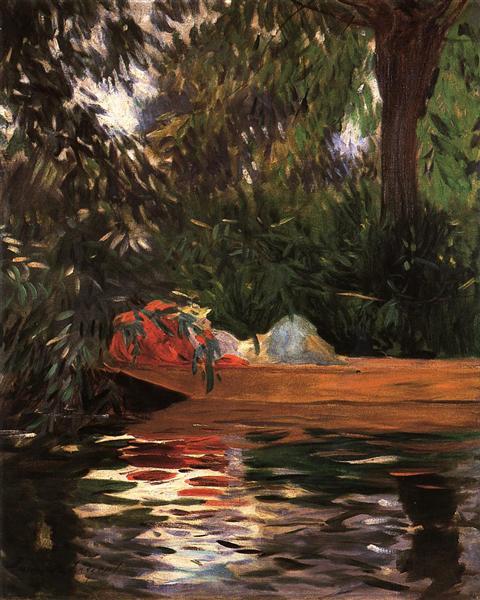 Under the Willows, 1887 - John Singer Sargent