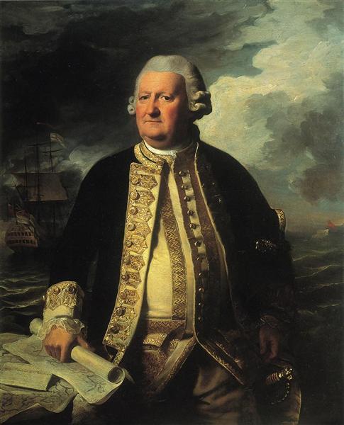 Clark Gayton, Admiral of the White, 1779 - John Singleton Copley
