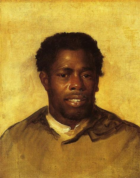 Head of A Negro, John Singleton Copley - Available to Be Viewed at the Detroit Institute of Arts