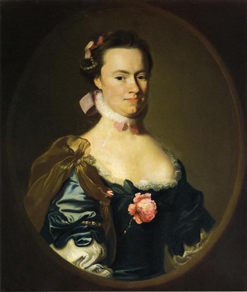 Lydia Lynde, c.1762 - c.1764 - John Singleton Copley