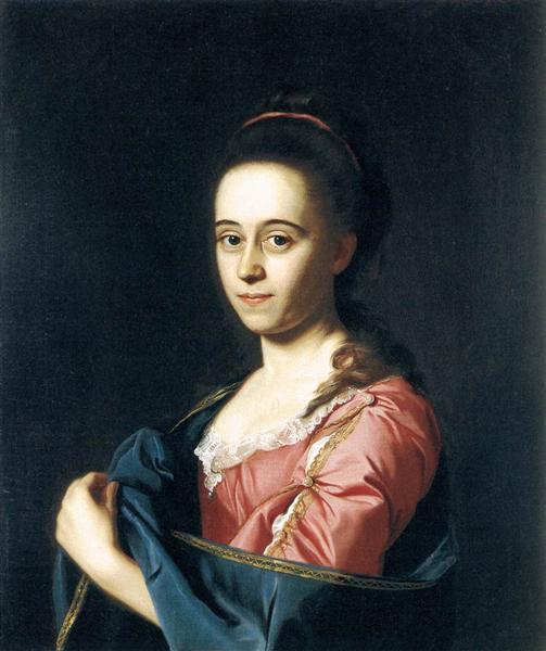 Mrs. Joshua Henshaw II, c.1772 - John Singleton Copley