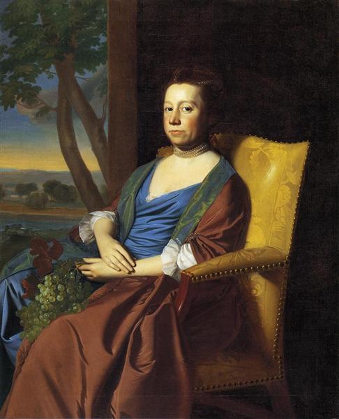 Mrs. Isaac Smith, 1769 - John Singleton Copley
