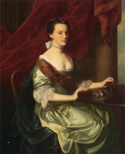 Mrs.Theodore Atkinson Jr, 1765 - John Singleton Copley