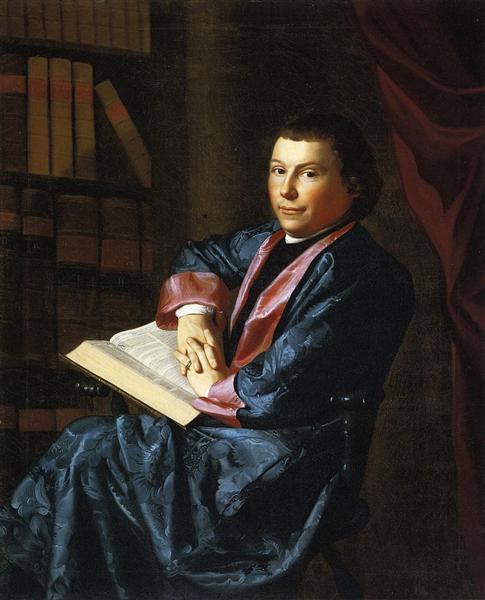 Reverend Thomas Cary, c.1770 - c.1773 - John Singleton Copley