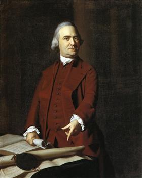 Samuel Adams - John Singleton Copley
