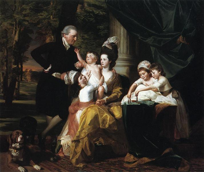 Sir William Pepperrell and Family, 1778 - John Singleton Copley