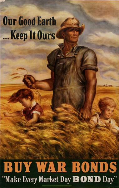 Our Good Earth. . .Keep It Ours, 1942 - John Steuart Curry