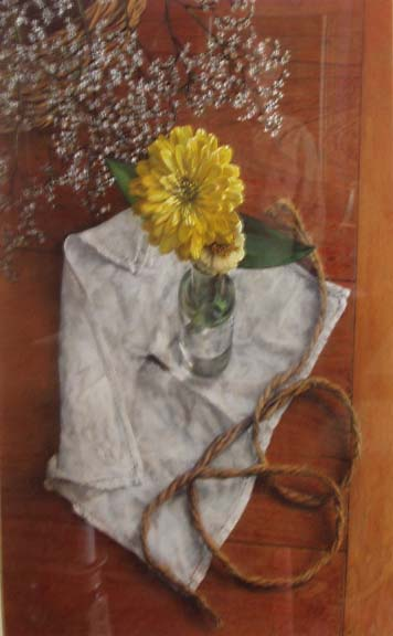 Still Life with Yellow Zinnia, 2000 - John Stuart Ingle
