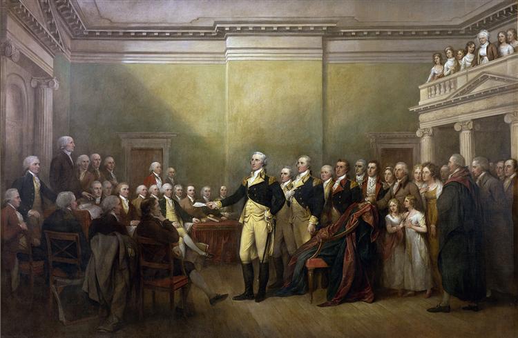General George Washington Resigning his Commission, 1817 - John Trumbull