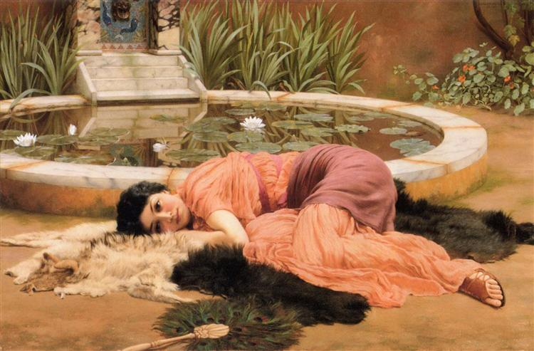 Dolce Far Niente, 1904 - John William Godward