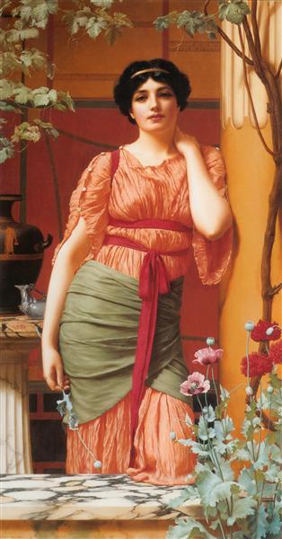 Nerissa, 1906 - John William Godward