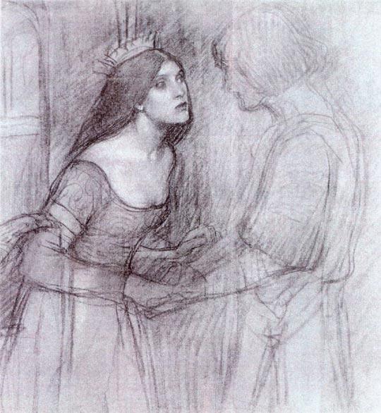 A Female Study, 1894 - John William Waterhouse