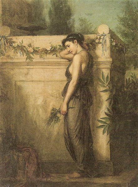 Gone, But Not Forgotten, 1873 - John William Waterhouse