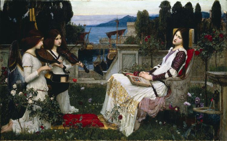 Saint Cecilia, 1895 - John William Waterhouse