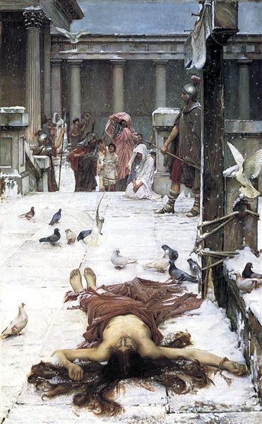 Saint Eulalia, 1885 - John William Waterhouse