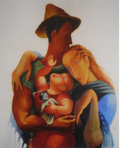 Family, 1940 - Almada Negreiros