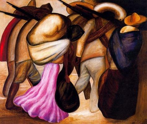 Soldiers, 1926 - Хосе Клементе Ороско