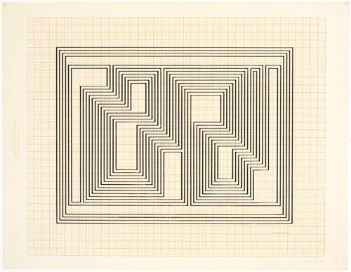 Graphic Tectonic, 1941 - Josef Albers