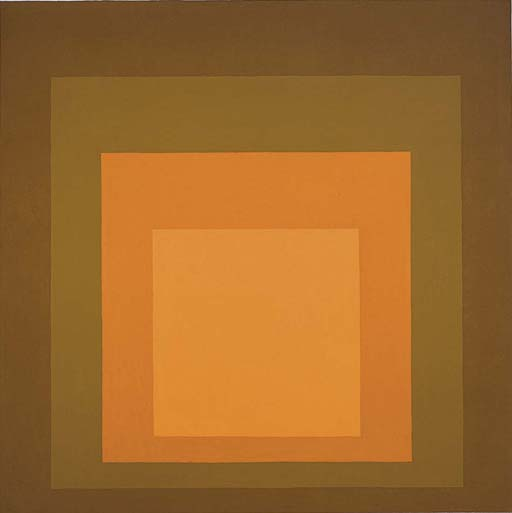 Homage to the Square: Autumn Climax - Josef Albers. Artist: Josef Albers
