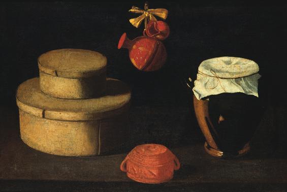 Natureza morta (caixa com potes), 1660 - Josefa de Óbidos