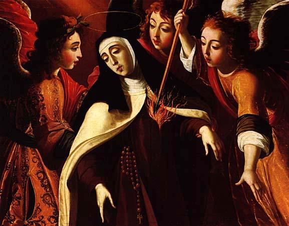 Transverberação de Santa Teresa, 1672 - Josefa de Obidos