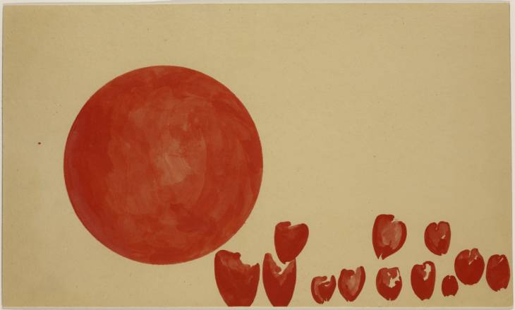 Hearts of the Revolutionaries: Passage of the Planets of the Future, 1955 - Joseph Beuys