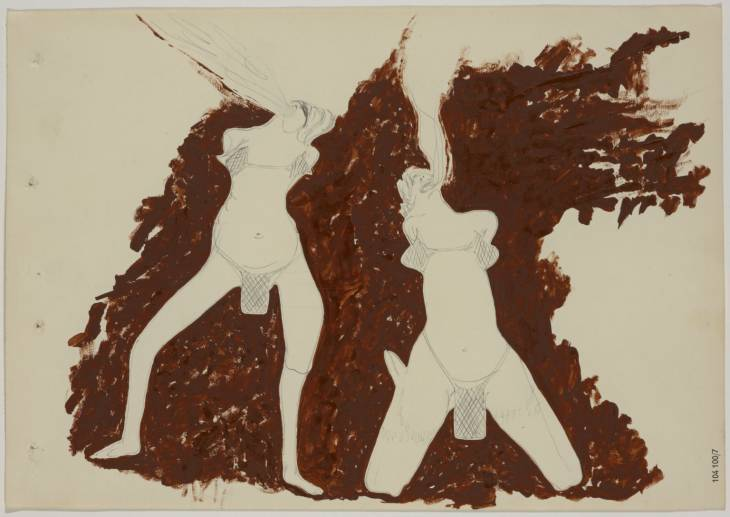 Witches Spitting Fire, 1959 - Joseph Beuys