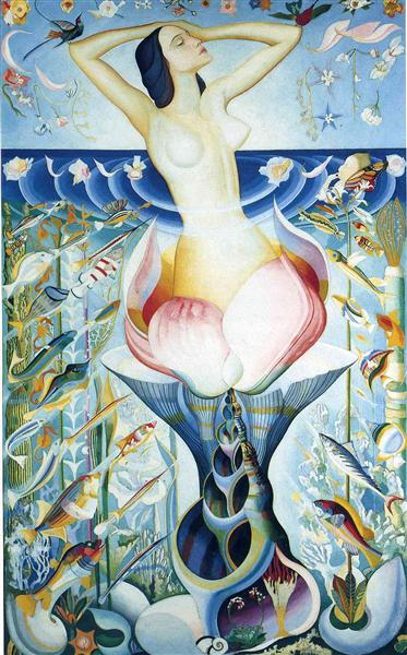 The Birth of Venus - Joseph Stella