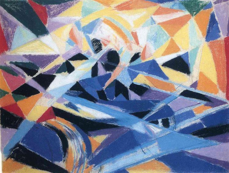 Futurist Composition, 1914 - Joseph Stella
