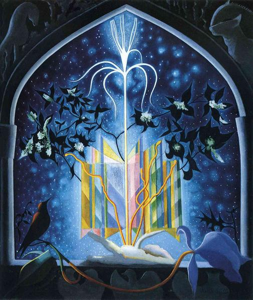 Serenade, A Christmas Fantasy - Joseph Stella