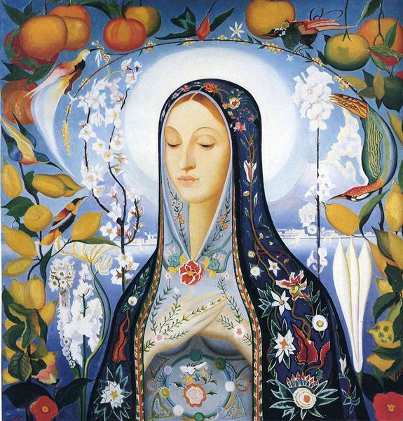 The Virgin, 1922 - Joseph Stella