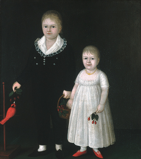 Edward and Sarah Rutter, 1805 - Joshua Johnson