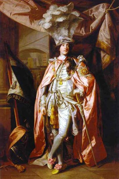 Charles Coote, 1st Earl of Bellamont - Joshua Reynolds