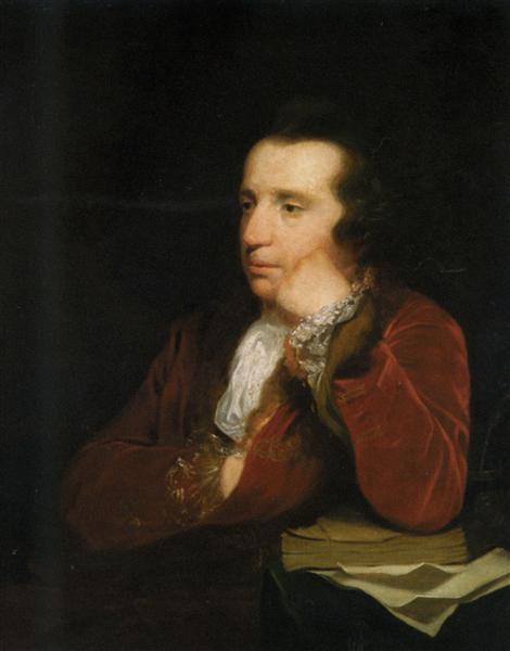 Portrait of George Colman, the Elder - Joshua Reynolds